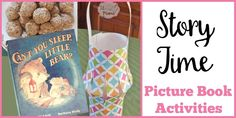 Can't You Sleep, Little Bear? activities include a free printable, science lesson, recipe for Peanut Butter Honey Balls and a Paper Lantern craft for kids Lantern Craft, Peanut Butter Recipes, Science Lessons, Paper Lanterns, Story Time, Book Activities, Free Printables, Crafts For Kids, Sleep