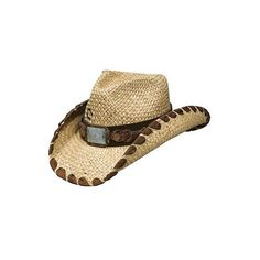ccc4f899877 Charlie 1 Horse Straw Cowgirl Hat Restless Girl ( 55) ❤ liked on Polyvore  featuring