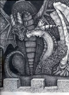Another really lovely classical style dragon. My Dragons by Mishi-ragdoll on deviantART