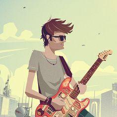Elektreaux Illustrations by Alex Varanese