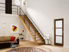 La primera salvaescalera que se fabricó en Europa data del año 1962 y fue creada por Handicare Stairlifts, siendo un modelo rígido y uniforme donde se empleaban materiales pesados con un asiento con apenas movilidad.  #salvaescaleras #precios