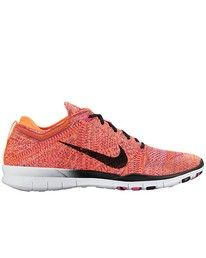 separation shoes c686d 766f9 Nike Free TR Flyknit - Bright Citrus   Black - Pink Pow