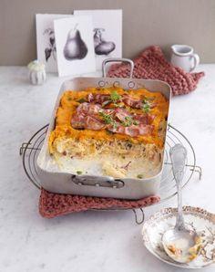 Rezept: Sauerkraut-Süßkartoffel-Auflauf - [LIVING AT HOME]