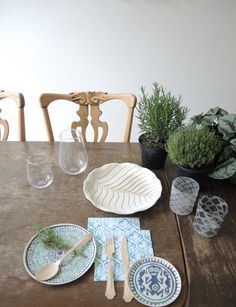 Urban Jungle Bloggers: Planty Table Setting by @anneke66