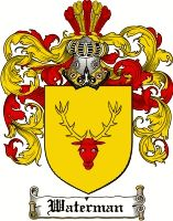 Waterman Coat of Arms / Waterman Family Crest