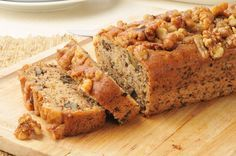 Banana Recipe for Camping food ideas food recipes food easy Banana Walnut Bread, Moist Banana Bread, Vegan Banana Bread, Banana Bread Recipes, Banana Nut, Baked Banana, Zucchini Banana, Apple Bread, Zucchini Bread