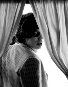 mick jagger by linda