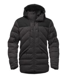 Navigate the city warmly with this wool-blend waterproof jacket that's insulated with 800-fill down and reinforced with Gore-Tex® hood, shoulder and back seat overlays for added protection.