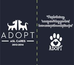 Buy a t-shirt to support A.S.L. Cares Fundraiser for the Shelter Animals!. Please share! #ADOPTaPET #support #ASL #lawschool