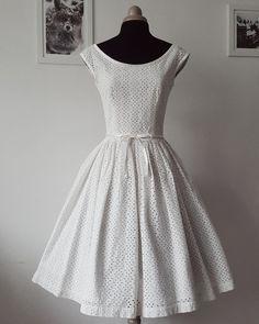 45f09c80b98 CAROL svatební šaty z bavlny Madeira   Zboží prodejce Galia Couture