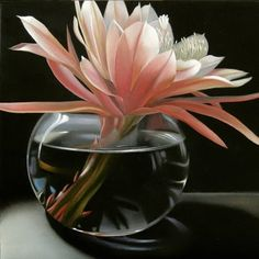 Epiphyllum 6 x6, painting by artist M Collier