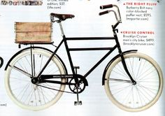 Brooklyn Cruiser in Vanity Fair...want!