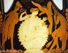 Древнегреческая вазопись Афродита