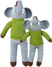Knit Dolls –Hercule the Elephant@Nicole Campbell