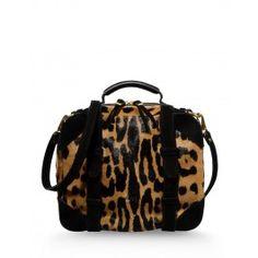 Jerome Dreyfuss Sam Bag - Leopard Print Bag - ShopBAZAAR