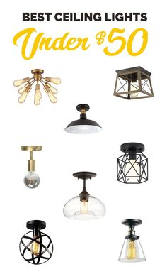 Finished Basement You don;t have to live with ugly light fixtures. Here are the best boob light repl Ceiling Light Fixtures, Affordable Lighting, Entryway Light Fixtures, Cheap Light Fixtures, Kitchen Lighting Fixtures, Ceiling Lights, Light Fixtures, Bathroom Light Fixtures, Replace Light Fixture