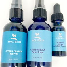 Holiskin Holistic Natural Organic Skin Care + giveaway