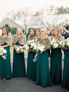 0da454d5be6 Take a Peek at a Wedding Inspired by Ralph Lauren s Iconic Style. Green BridesmaidsWedding  Bridesmaid DressesEmerald ...