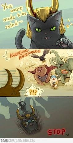 Animal Avengers,  funny!