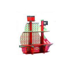 Mensola a forma di nave di pirati Djeco | Cameretta di Pippi