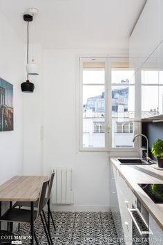 Rénovation d'un appartement à Vincennes, mon concept habitation - Côté Maison