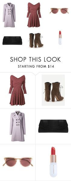 """""""Class President"""" by hplover92 ❤ liked on Polyvore featuring Emilio Pucci, Nina, Oliver Peoples and Winky Lux"""