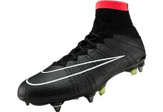 Nike Mercurial Superfly SG-Pro Soccer Cleats - Black...Available at SoccerPro now!
