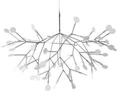 heracleum suspension light by moooi