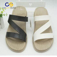 f24c979ad4b 2017 fashion cheap latest designed unisex slippers casual PVC slipper for  men and women