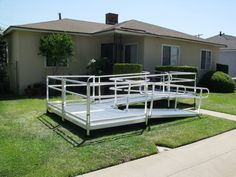 We offer free home assessments on modular ramps in the Nashville Tennessee area. Portable Wheelchair, Portable Ramps, Handicap Ramps, Nashville Tennessee, Pathways, Stairs, Outdoor Structures