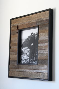 8x10 reclaimed wood picture frame by CarpenterCraig on Etsy, $65.00