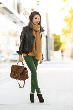 Spring in Winter :: Kelly green bottoms