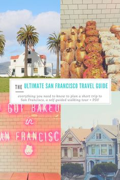 I recently took a quick, weekend trip to San Francisco, California. We crammed so much into the short trip, that I don't think anyone would believe it was only 3 days of activities. Our first day was spent getting the lay of the land, exploring our surroundings, wetting our feet with all the