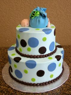 baby shower cake for boy - Google Search