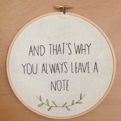 George Bluth life lesson embroidery hoop art by emptydotroom