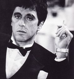 Al Pacino....bka Scarface and Michael Corleone aka Godfather.
