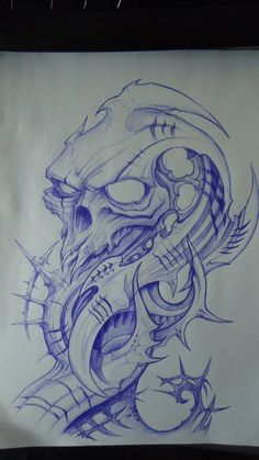 biomech skull design by DiegoCT92                                                                                                                                                                                 More