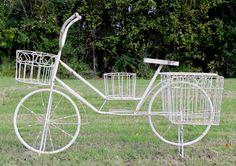 Bicycle Planter #Wedding #Rental #WeddingRental #Vintage #Photography #Photoshoot #Houston #Spring #Tomball #Woodlands #Katy #Texas #SomethingGoodeVintageRentals #SomethingGoode