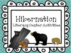 pay teachers hibernation activities and literacy centers hibernation ...