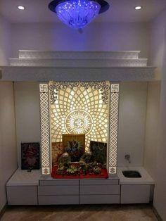 Home Dream Columns 17 Ideas Office Interior Design, Interior Design Living Room, Temple Room, Jaali Design, Temple Design For Home, Mandir Design, Living Room Wall Units, Pooja Room Door Design, Puja Room