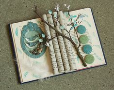 altered books by rachael ashe. i love making and exploring altered books! Book Page Crafts, Book Page Art, Up Book, Paper Book, Paper Art, Paper Crafts, Libros Pop-up, Magazine Deco, Altered Book Art