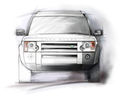 Land Rover LR3... Awesome rendering