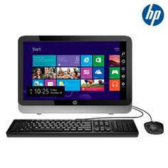 """HP Pavilion Windows 8.1 OS 1.4GHz 1TB 19.45"""" All-in-One Desktop PC"""