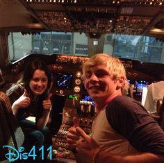 Ross Lynch And Laura Marano Took A Flight To Australia February 17, 2013