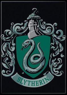 Magnet: Harry Potter - Slytherin Crest