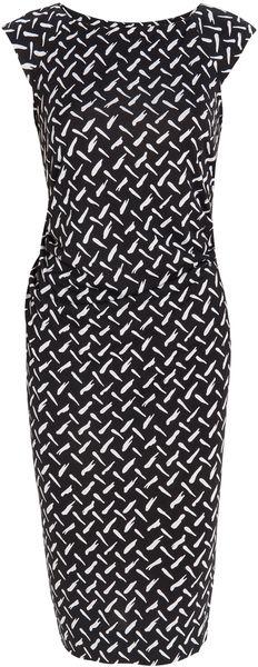 Gabi Silk Jersey Dress