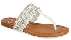 Jessica Simpson 'Roelle' Embellished Sandal (Women)