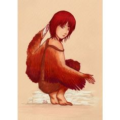 Ella, the harpy by xsweetsillygirl ❤ liked on Polyvore