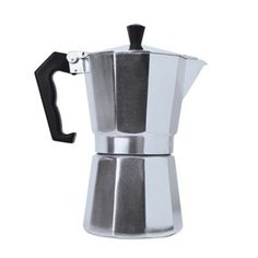 Generations of Italians have sworn by the stovetop method of brewing espresso. The Epoca 3-Cup Stovetop Espresso Maker offers the classic 2-chamber percolation design in a compact 3-cup size.