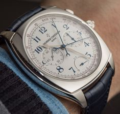 At $369,200 the limited edition of 10 Vacheron Constantin Harmony Ultra-Thin Grande Complication Chronograph Caliber 3500 is sublime, and destined for the very few. But I can still look at the picture... ;)